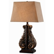 Kenroy Home Corbel 32551ACBZ 28 Table Lamp, Aged Copper Bronze