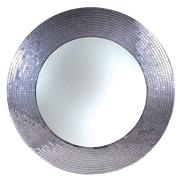 Kenroy Home Miranda 61007 35 Round Wall Mirror, Silver