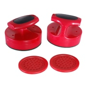 Carmelli BG1005 Plastic Air Hockey Striker and Puck Set, Red