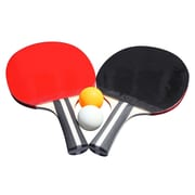 Hathaway Single Star BG2341 Table Tennis Racket & Ball, Set of 2