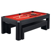 Hathaway BG2530PR Park Avenue 7' Pool Table Combo Set