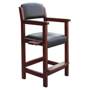 Carmelli BG2556W Cambridge Spectator Wooden Chair, Antique Walnut