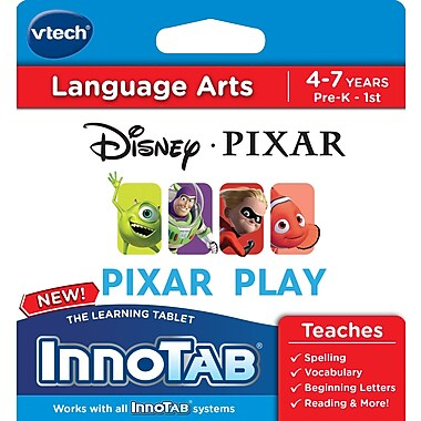 VTech - Logiciel InnoTab, Collection Disney / Pixar