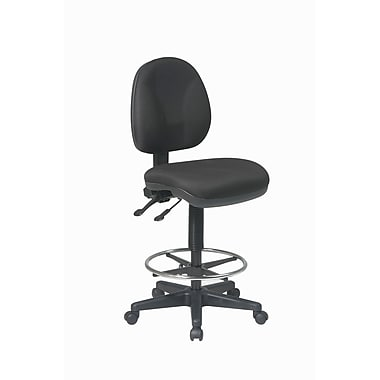WorkSmart Deluxe Ergonomic Drafting Chair with Adjustable 20
