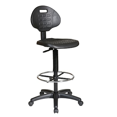 Work Smart Drafting Chair, Black