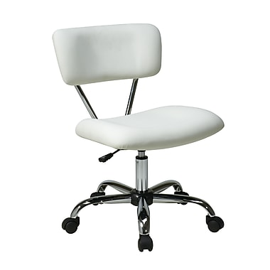 Avenue Six Vista Task Office Chair, White