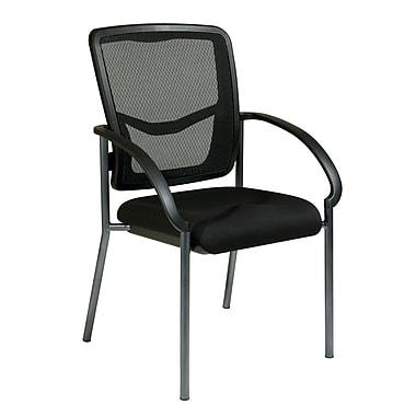 Prp-Line ProGrid Back Visitors Chair, Black