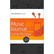 Moleskine Passion Journal Music Notebook Large, Black