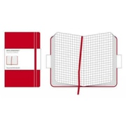 Moleskine Classic Pocket Square Notebook Large, Red