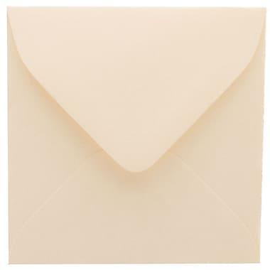 JAM Paper® 3.125 x 3.125 Mini Square Envelopes, Strathmore Natural White Wove, 100/Pack (111250A)