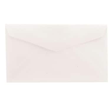 JAM Paper® 2Pay Mini Small Envelopes, 2.5 x 4.25, Clear Translucent Vellum, 100/Pack (900767740A)