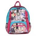Nicole Lee Series II Crinkle Nylon 17'' Laptop Backpack