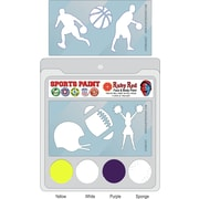 RUBY RED PAINT, INC. College Sports Face Paint; West Virginia
