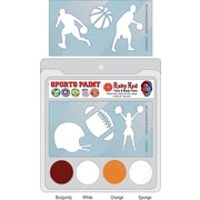 RUBY RED PAINT, INC. College Sports Face Paint; Virginia Tech