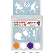 RUBY RED PAINT, INC. College Sports Face Paint; Clemson