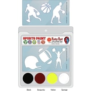 RUBY RED PAINT, INC. College Sports Face Paint; Iowa