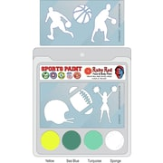RUBY RED PAINT, INC. College Sports Face Paint; UCLA