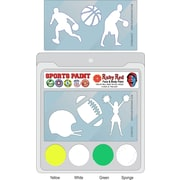 RUBY RED PAINT, INC. College Sports Face Paint; Baylor