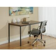 """Jesper Office P4727-WAL 47"""" Wood Writing Desk, Walnut"""