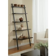 "Jesper Office Parson Edition 71"" 5-Shelf Leaning Bookcase, Espresso"