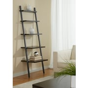 "Jesper Office Parson 100 Collection 71"" 5-Shelf Leaning Bookcase, Espresso"