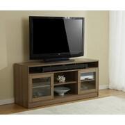 """Jesper Office 100 1632029-WAL 63"""" Laminate TV Cabinet, Walnut"""