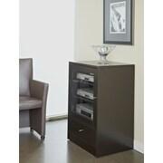 "Jesper Office 100 1242036-ESP 24"" Laminate TV Cabinet, Espresso"