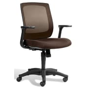 Jesper Office Camilla Fabric Office Chair, Brown