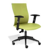 Jesper Office Kaja Fabric Office Chair with Arms, Green