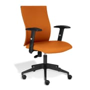 Jesper Office Kaja Fabric Office Chair with Arms, Orange