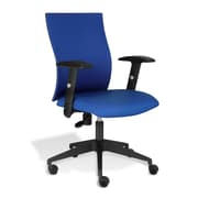 Jesper Office Kaja Fabric Office Chair with Arms, Blue