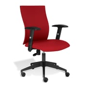 Jesper Office Kaja Fabric Office Chair with Arms, Red