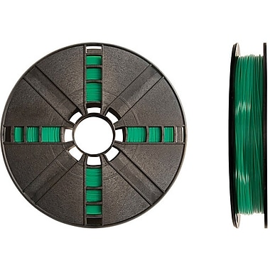 MakerBot 1.75 mm PLA Filament, Small Spool, 0.5 lb., Translucent Green