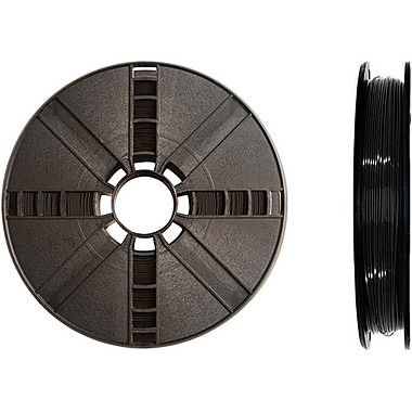 MakerBot 1.75 mm PLA Filament, Small Spool, 0.5 lb., True Black