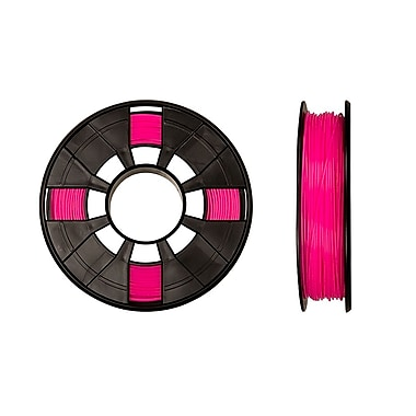 MakerBot 1.75 mm PLA Filament, Small Spool, 0.5 lb., Neon Pink