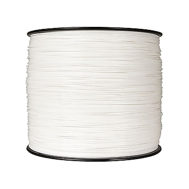 MakerBot 1.75 mm PLA Filament, XXL Spool, 10 lb., True White