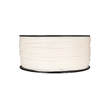 MakerBot 1.75 mm PLA Filament, XL Spool, 5 lb., True White