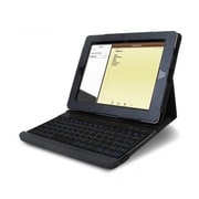 Impecca KBC84BTL Illuminated Bluetooth Wireless Keyboard and Keyboard Cover, Black