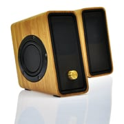 Impecca MSB350 USB Powered Bamboo Pc Speaker