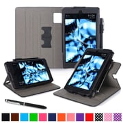 roocase Tablets Dual View Folio Case, Black