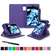 roocase Tablets Dual View Folio Case, Purple