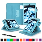 roocase Tablets Dual View Folio Case, Blue