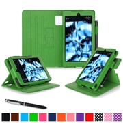 roocase Tablets Dual View Folio Case, Green