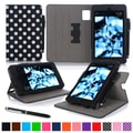 roocase Dual View Folio Case Cover Stand For Amazon Kindle Fire HD 6in., Black