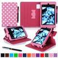 roocase Dual View Folio Case Cover Stand For Amazon Kindle Fire HD 6in., Pink