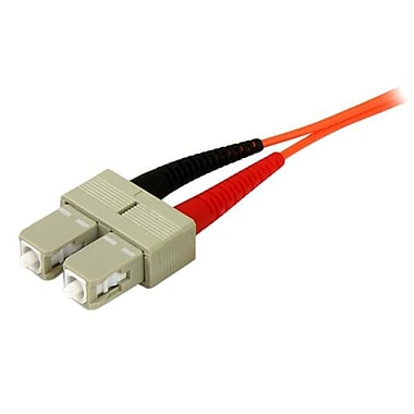StarTech.com 5m OFNP Plenum Multimode 50/125 Duplex Fiber Patch Cable SC, SC