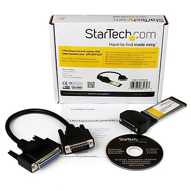 StarTech.com 1 Port ExpressCard Laptop Parallel Adapter Card, SPP/EPP/ECP
