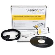 StarTech.com HDMI® to ExpressCard HD Video Capture Card Adapter 1080p