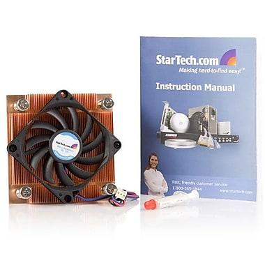 StarTech.com – Ventilateur de refroidissement discret 1U 70 mm, processeur socket 775, dissipateur thermique, connecteur TX3