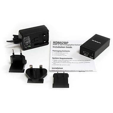 StarTech.com HDMI® or DVI to DisplayPort® Active Converter